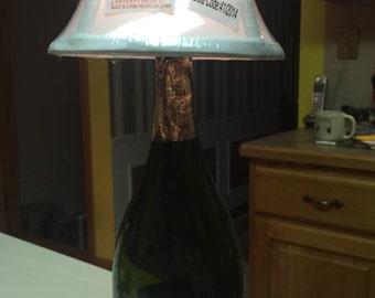 Champagne Bottle Lamp