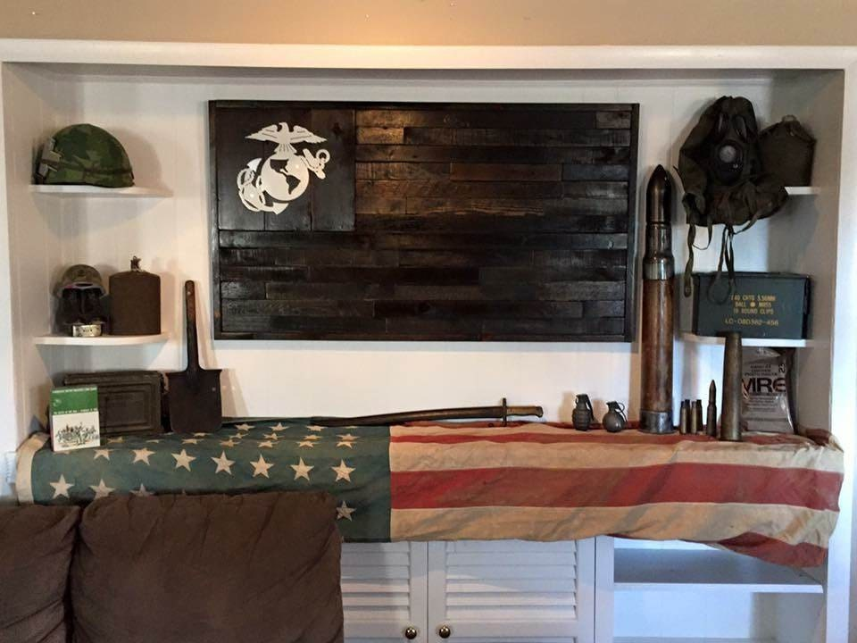 United States Marine Corps Flag Reclaimed Wood Repurposed Home Decorators Catalog Best Ideas of Home Decor and Design [homedecoratorscatalog.us]