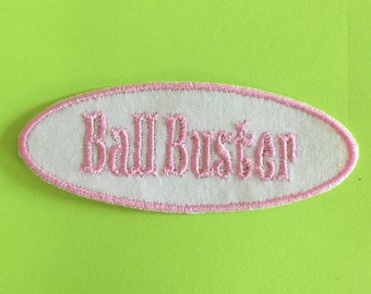 Ball Buster Patch