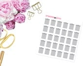 Trash Cans -- Matte Planner Stickers