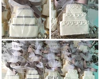 Tiered Wedding Cake Cookie
