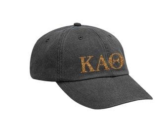 KAO Kappa Alpha Theta Letters Hat Choose Your Colors Sorority Hat