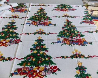 "Christmas Tree fabric 22"" X 44"""