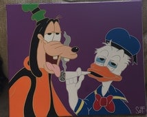 Popular items for mickey weed on etsy - Donald et dingo ...