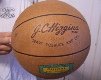 Vintage J.C. Higgins Basketball