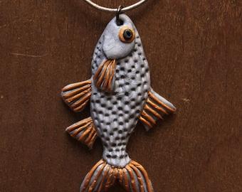 Pendant silver fish - Silver Fish Pendant