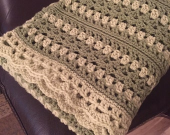 Shades of Green Baby Blanket