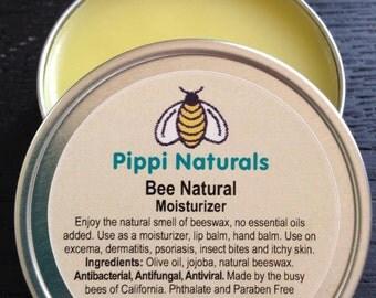 Non fragranced beeswax balm