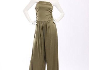1970s Olive Jumpsuit