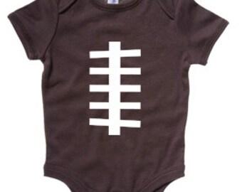 Football Baby- Football Onesie Cute Baby Onesie