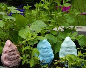 Garden Gnomes Glycerine Soap Bars