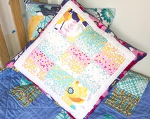 Quilted Cushion/Home Decore/Cushion/Gift