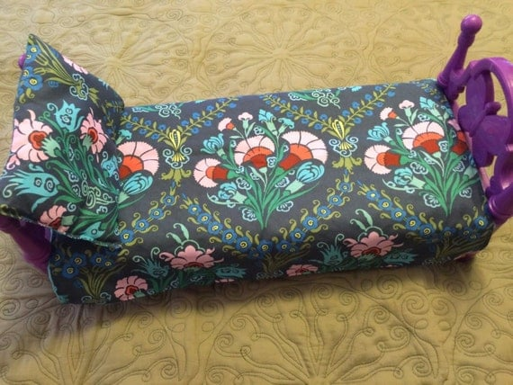 American Girl Doll Blanket & Pillow Amy Butler Josephine Boutique Fabric Authentic Minky 19 x 14 Blanket 8 x 5 Pillow American Doll Blanket