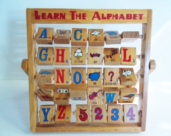 Learn The Alphabet Toy