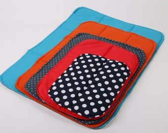 Universal pad for dog, crate mat, traveling dog bed