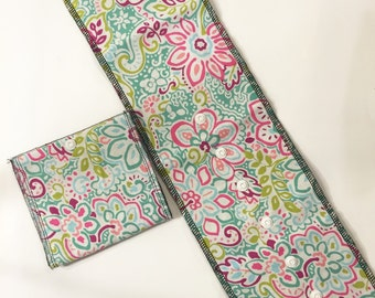 Toilet Paper Cover-Paisley Flowers
