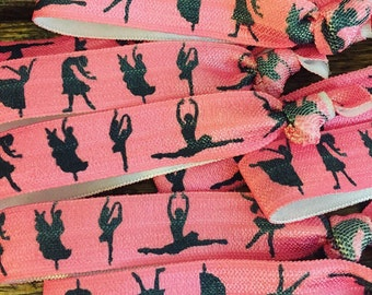Dance Hair Ties, Dance, Hair Ties, Dance Party, Bulk Hair Ties, Party Favors