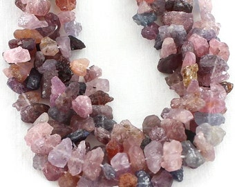 Spinel Rough Nugget Beads