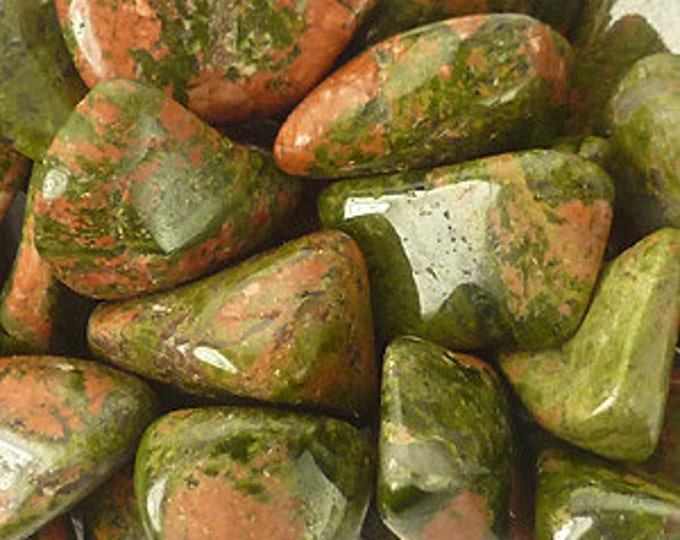 Unakite Crystal Stones infused w/ Reiki, Healing Crystals and Stones