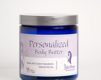 Personalized Body Butter