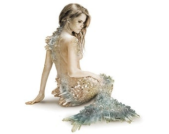 Crystal Mermaid Signed Color Print | Art | Photograph | Design