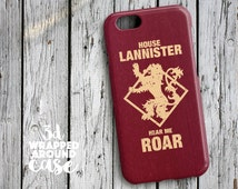 LANNISTER iPhone 6s Case, clear iphone 6s Plus case, game of thrones iphone 6 case, iphone 6 plus plastic case,