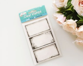 Clear Stamps Set 5