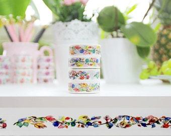 Washi Tape Floral WTJ-04