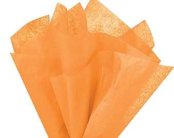 "Peach Tissue Paper 20"" X 30"" - 48 Sheet Count"