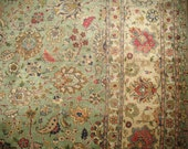 Antique Persian Tabriz Rug Size 9'7''x12'9''
