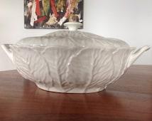 Vintage oval lidded vegetable dish - Coalport Countryware bone china