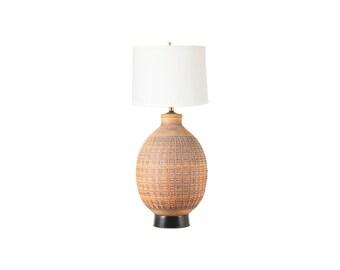 "California Earthenware ""N-Series"" Ceramic Table Lamp by Bob Kinzie"