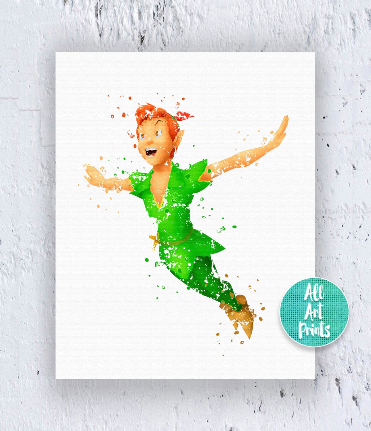 This is a picture of Irresistible Peter Pan Printables