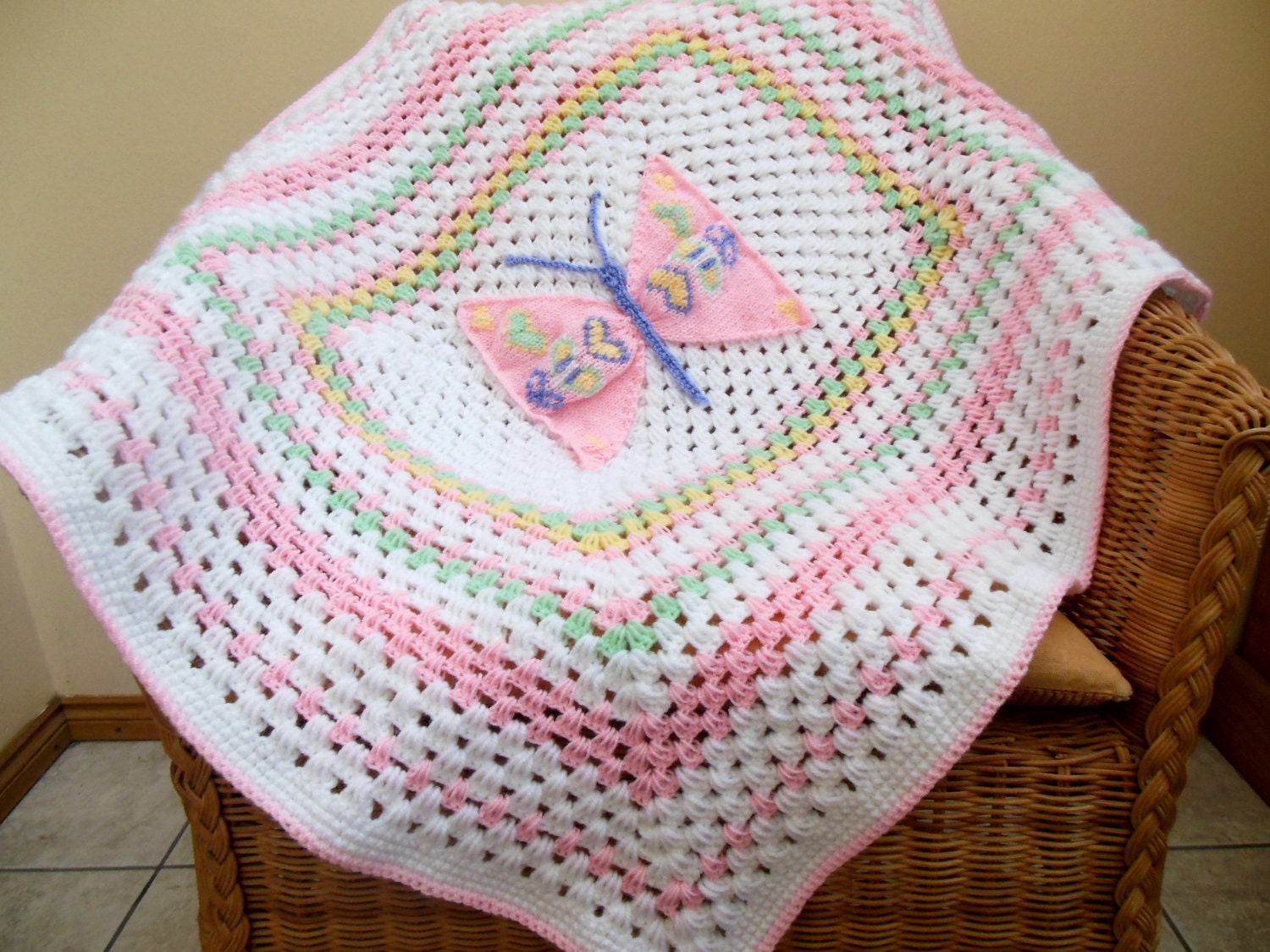Free Tunisian Crochet Baby Afghan Patterns ~ manet for .