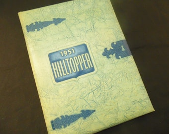 1951 Hilltopper Yearbook Fredonia High School