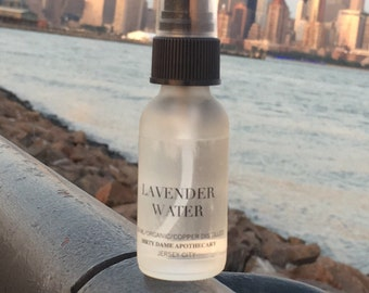 Lavender hydrosol, facial toner, organic, vegan, pure, hydrate, hit flashes, child perfume, safe for baby, all skin types