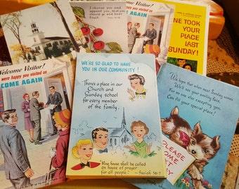Sunday School Postcards