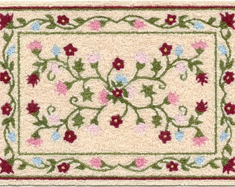 Bunka Rug kits - 1/12th scale - Jacobean and Persian style designs