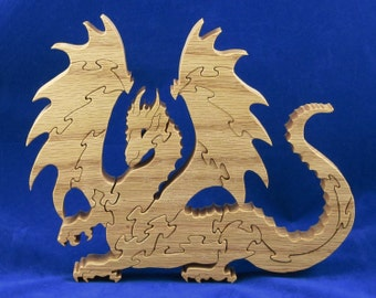 Lythe Dragon Wood Puzzle