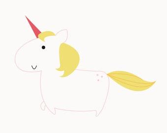 A4 - Unicorn poster
