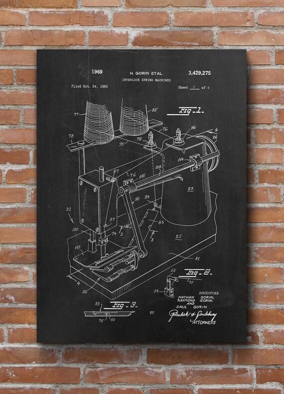 sewing machine patent