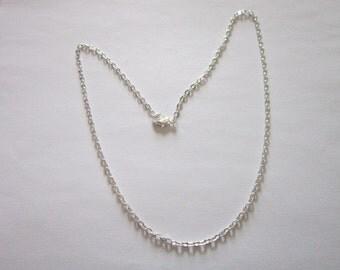 Vintage Silvertone 18 inch Chain Necklace