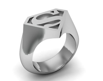 Superman ring Etsy