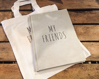 "Friendship book ""MY FRIENDS"""