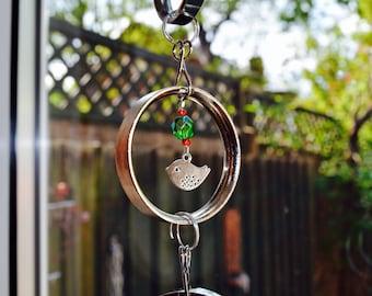 Birds, Bells and Handbag Charm Mobile