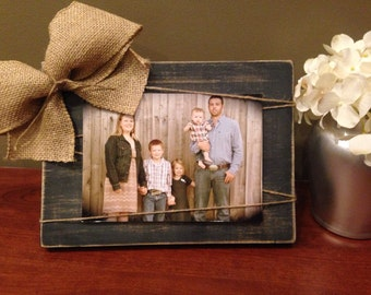Handmade wood picture frame 5x7