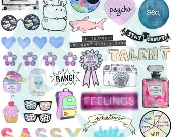 Tumblr Stickers Set Of Decals