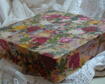 Bridal Keepsake Box - Flowers