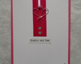Hand Made Wedding Invitation