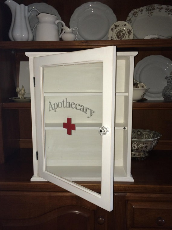 Handmade Vintage Style First Aid Medicine By Ameliajillhome